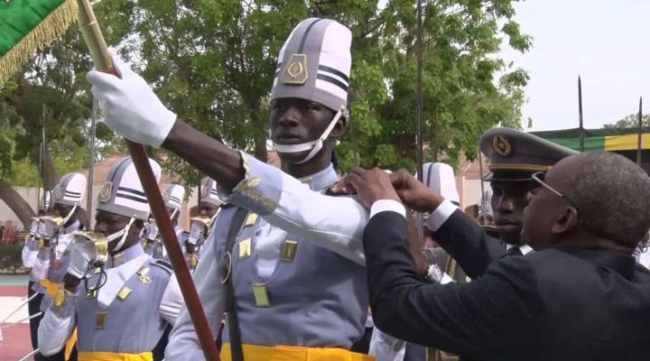Thiès : 63 officiers de l'ENOA reçoivent leurs épaulettes