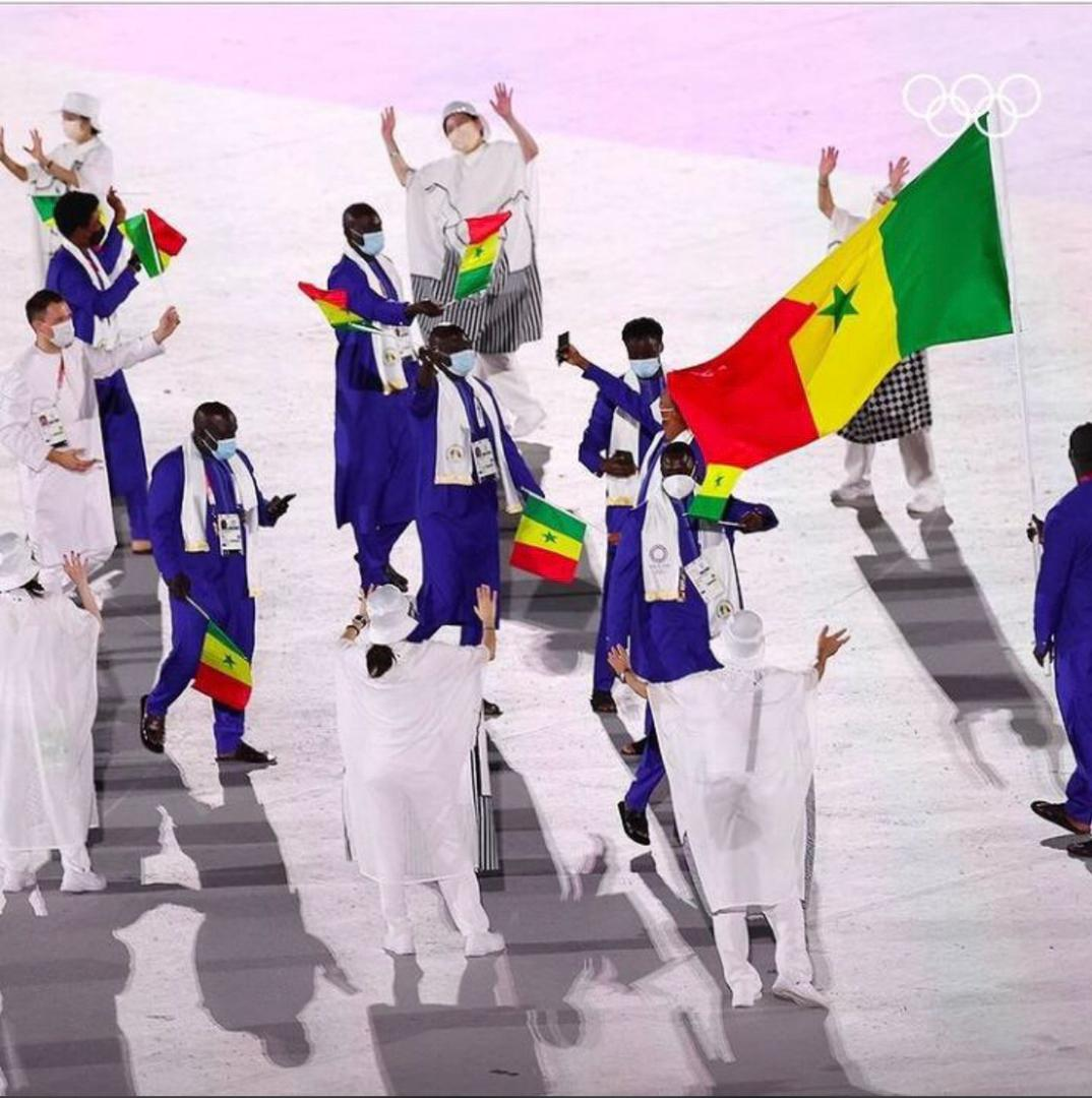 Cérémonie d'ouverture des JO de Tokyo: les athlètes senegalais qualifiés ont hissé les couleurs du pays