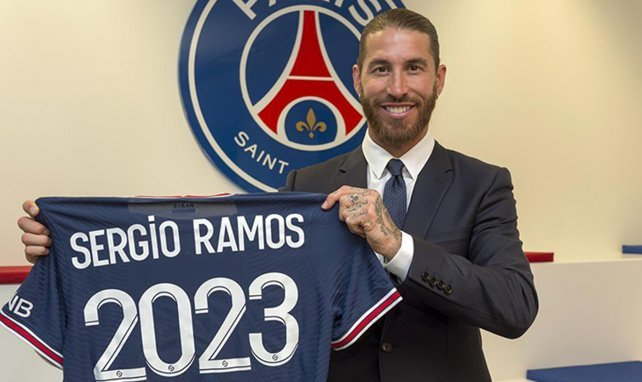 PSG : vers un forfait de Sergio Ramos pour le Trophée des Champions