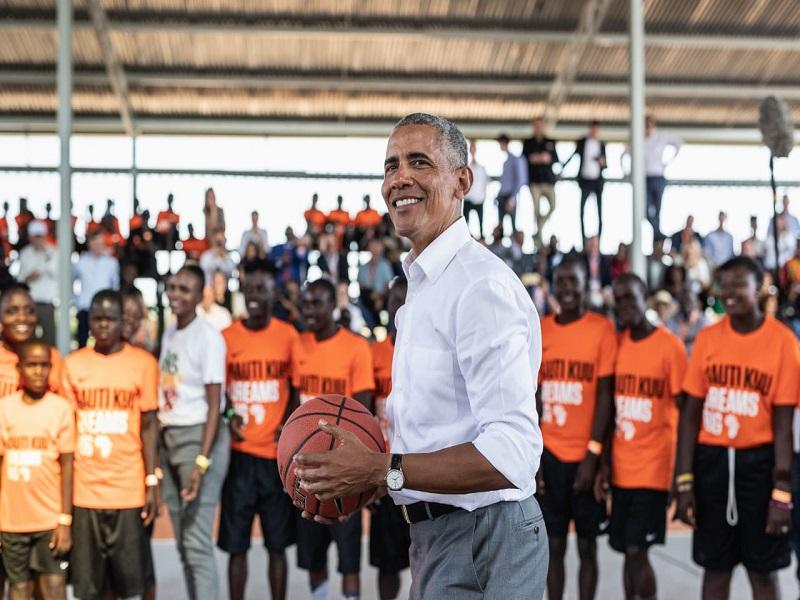 Basket : Barack Obama devient partenaire stratégique de la NBA Africa