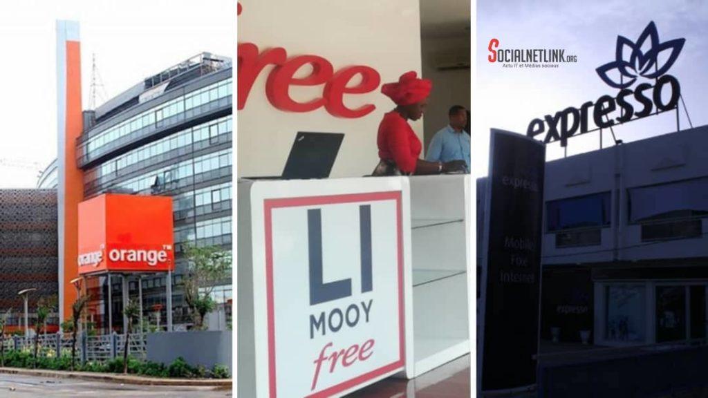 Télécoms: les chiffres d'Orange baissent au 1er trimestre, Free décolle