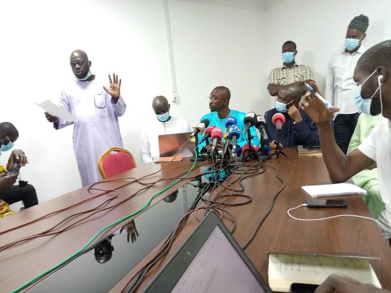 "Le SYNPICS section RTS accuse Racine Talla de gestion ""calamiteuse et nébuleuse"""