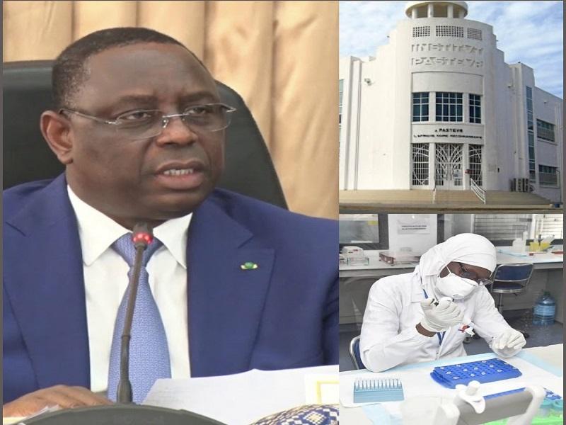 Institut Pasteur de Dakar: les agents voulaient accueillir Macky avec des brassards rouges ce vendredi