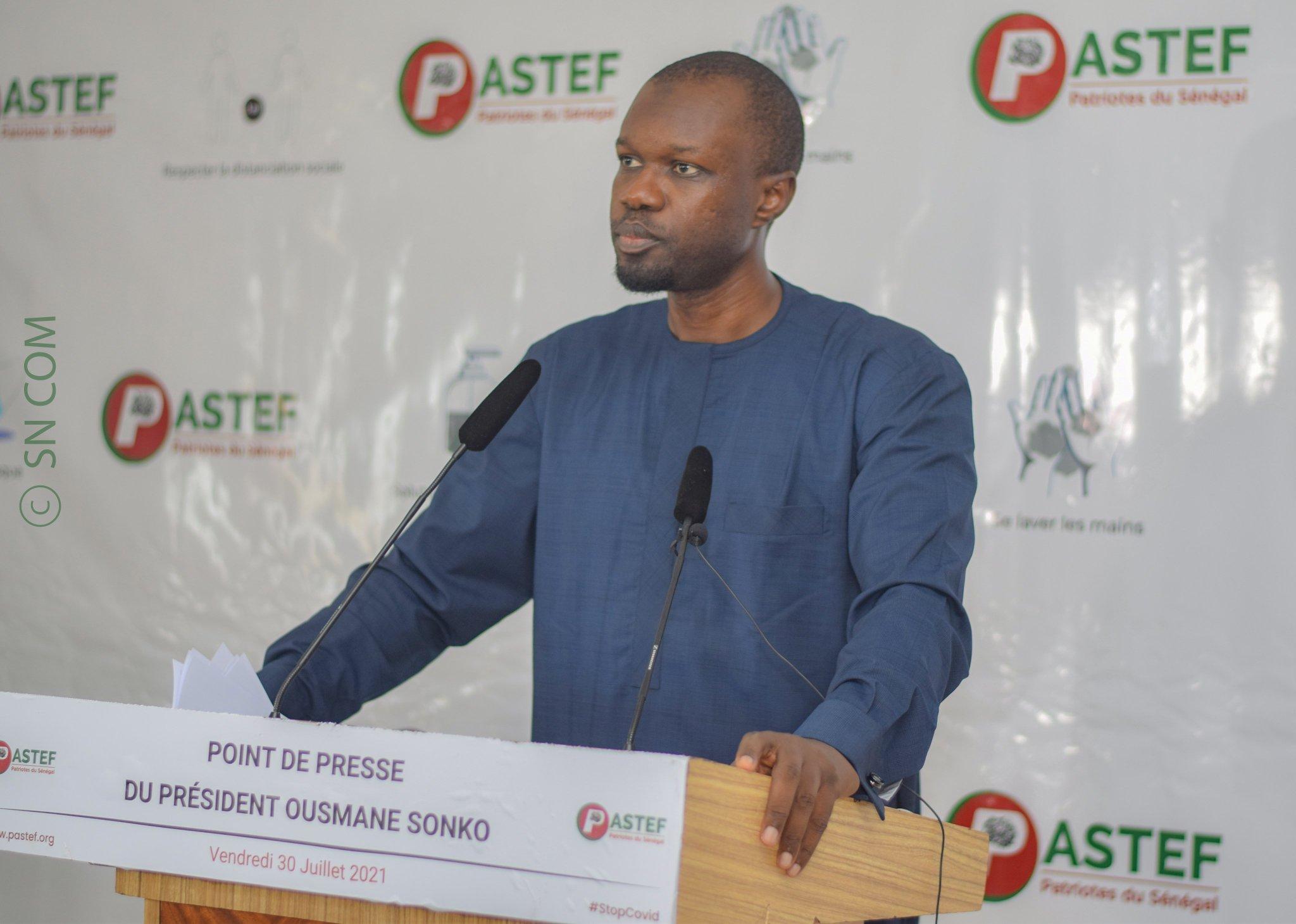 Gestion Covid-19 Sénégal: Sonko torpille Macky et Diouf Sarr, propose des solutions et bannit le Pass Sanitaire