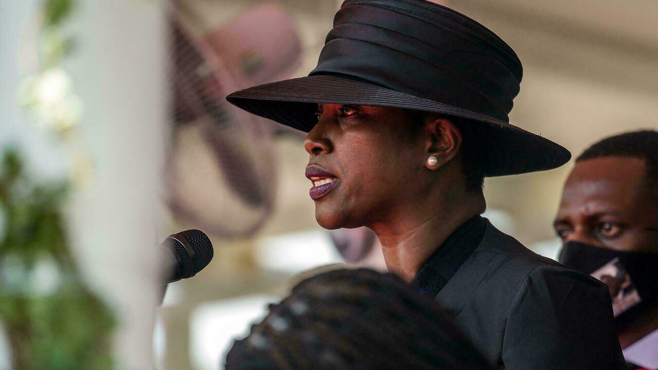 Haïti: la première dame Martine Moïse se confie sur la mort de Jovenel Moïse