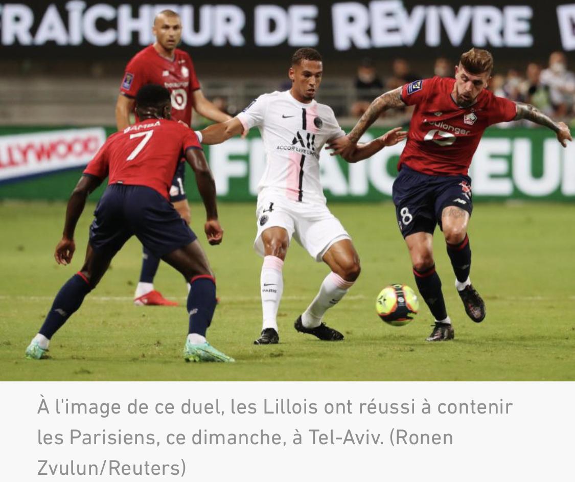 Trophée des champions: Lille piège le PSG