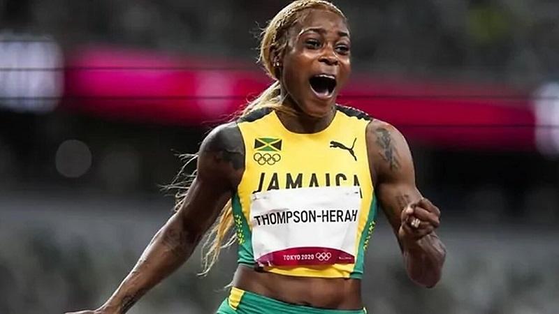 JO-2020: après le 100 m, la Jamaïcaine Thompson-Herah championne olympique du 200 m