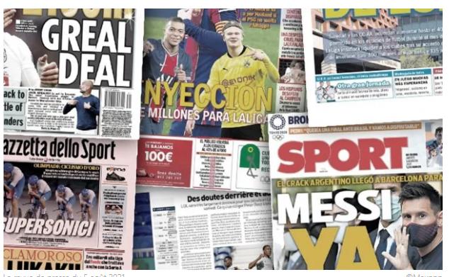 L'importante arrivée d'argent en Liga relance les dossiers Haaland et Mbappé, le cas Lukaku déchire l'Inter