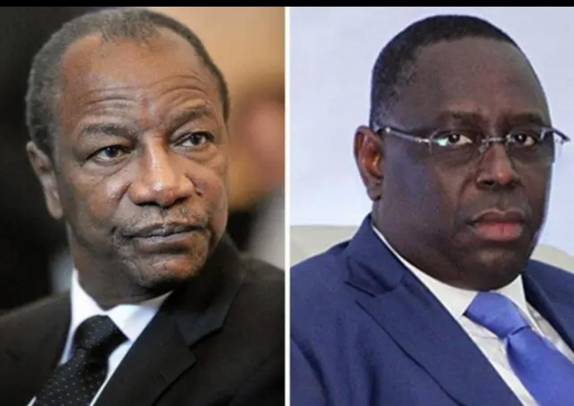 Axe Banjul-Conakry: Condé fait les yeux doux à Barrow, Macky intransigeant