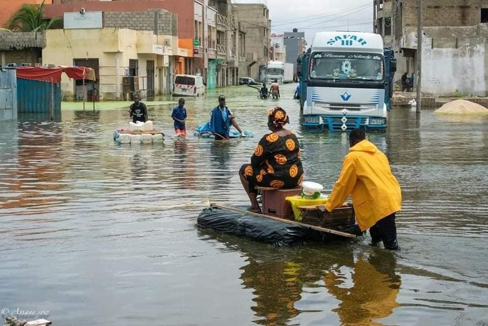 Oumar Gueye sur les inondations : « l'eau est source de développement et nous avons besoin de pluie »