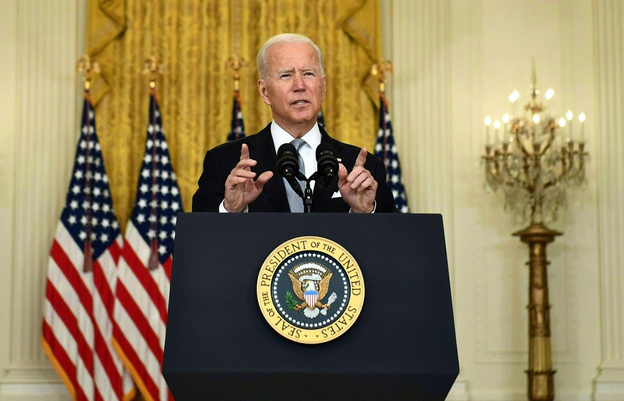 Biden évoque la menace «croissante» d'une attaque du groupe État islamique pour justifier le retrait de Kaboul