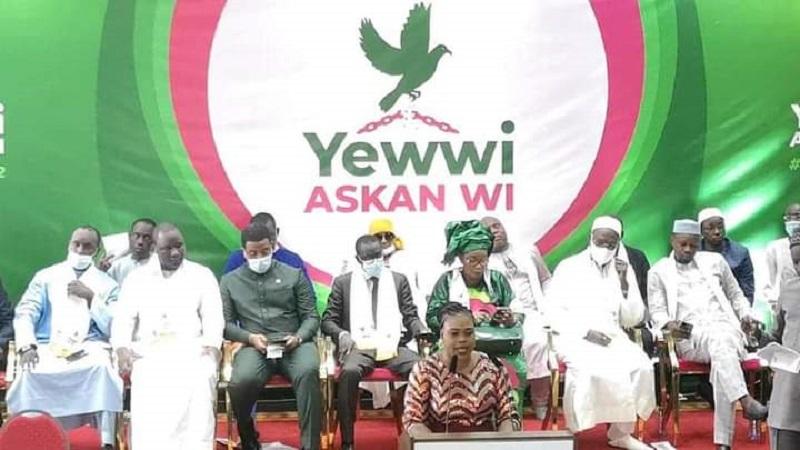 """Coalition « Yewwi Askan wi »: """"Ça  été fait avec le plus grand secret et en toute responsabilité"""" (Moussa Tine)"""