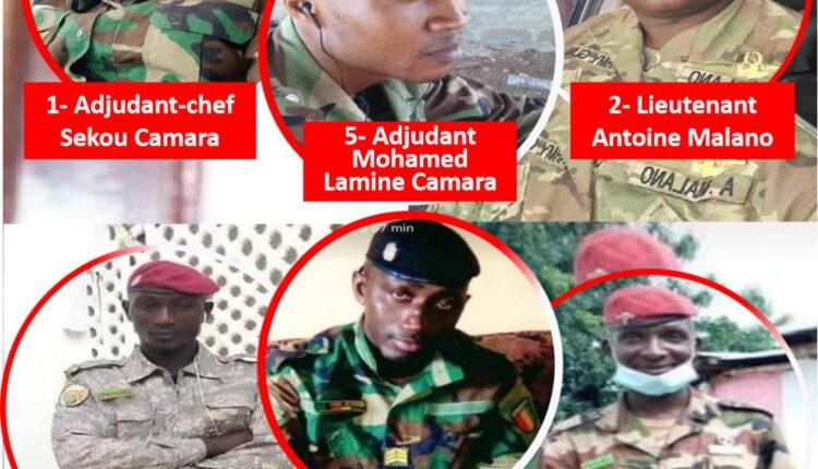 Coup d'Etat en Guinée: 8 militaires auraient été tués
