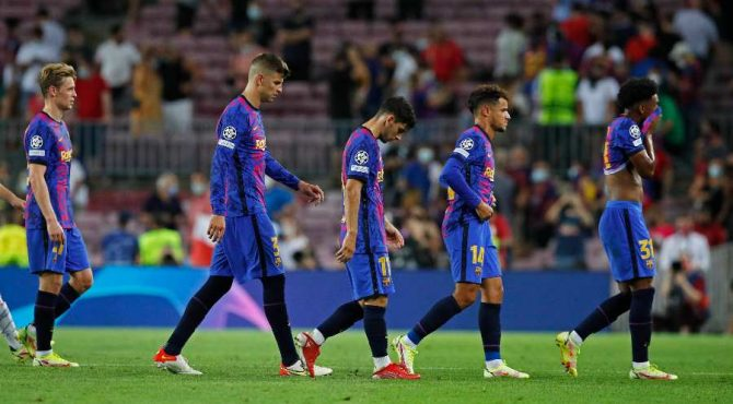 Réunion de crise au FC Barcelone !