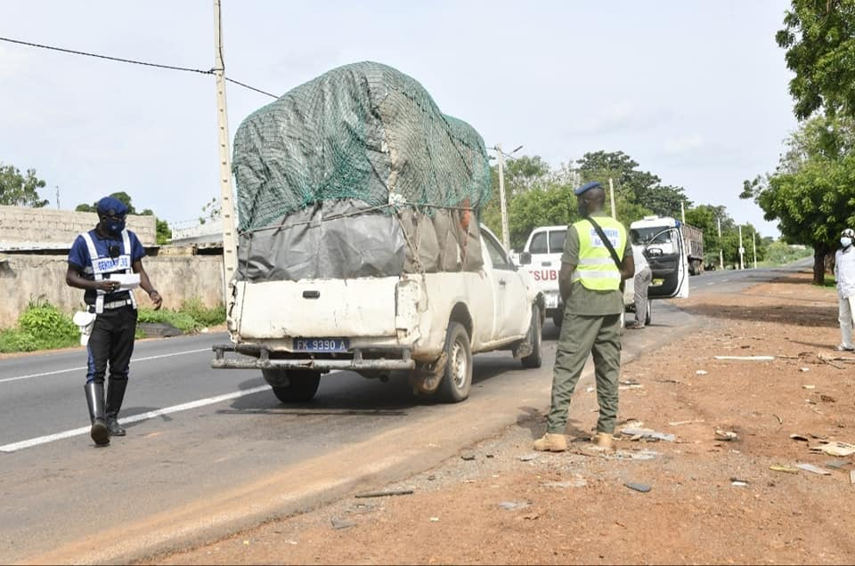 Sécurité routière : 30.349 infractions enregistrées par la gendarmerie nationale en août