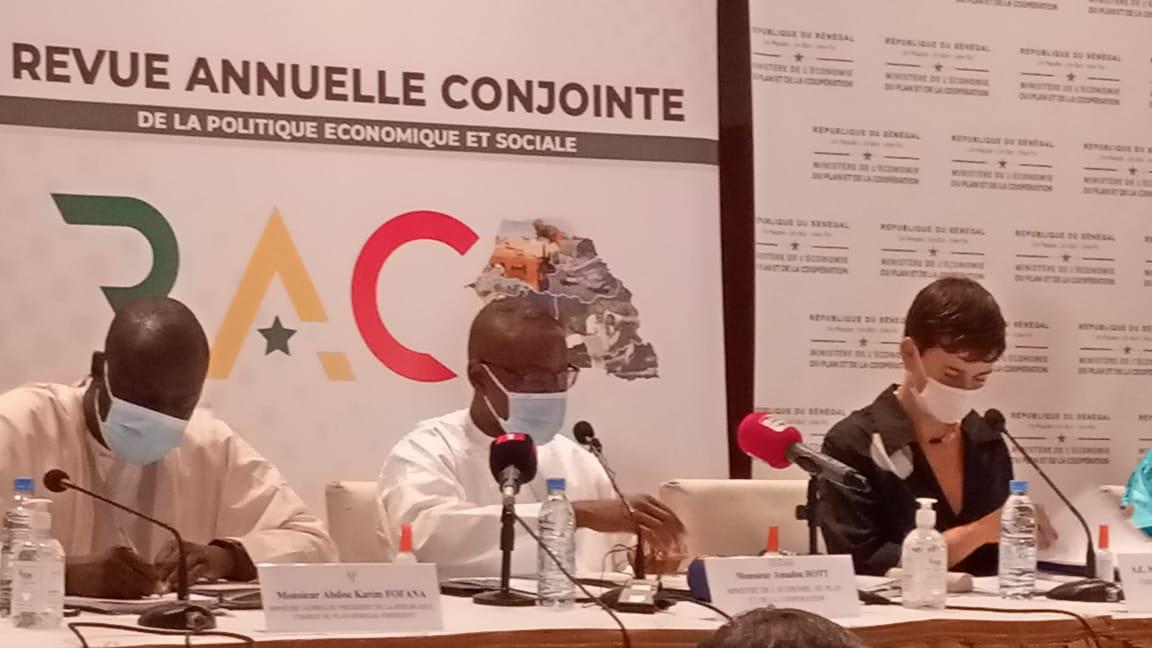 Revue Annuelle Conjointe 2020 : la baisse du rythme de croissance du PIB établie à 1,5% ( Ministre Amadou Hott)