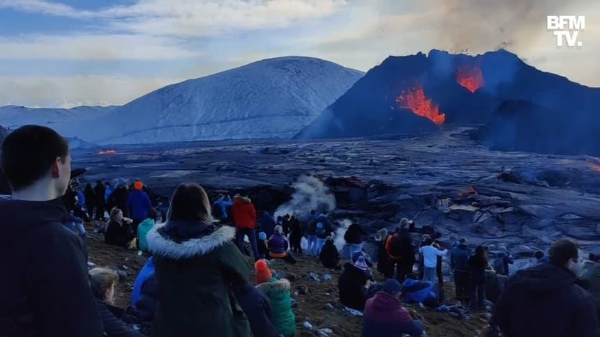 L'éruption volcanique sur la péninsule de Reykjanes en Islande devient la plus longue depuis plus de 50 ans