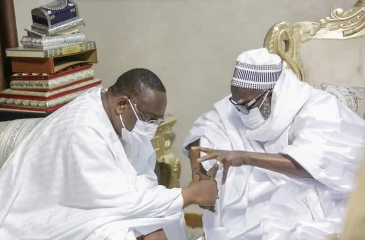 Touba : Macky Sall remercie le Khalife Général des mourides pour son rôle de «régulateur social»
