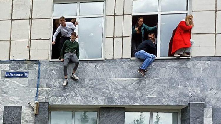 Russie: au moins 8 morts et des blessés suite à une fusillade dans une université