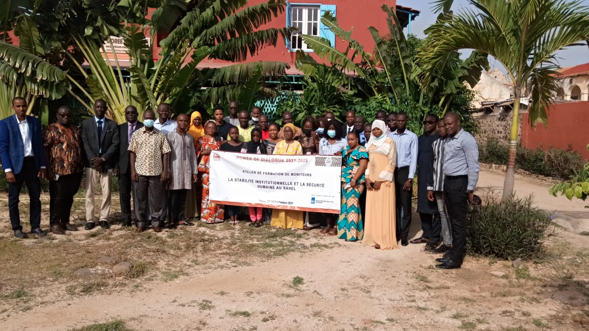 Monitoring de la stabilité Institutionnelle : Gorée Institute prône le renforcement de l'espace démocratique en l'Afrique de l'Ouest