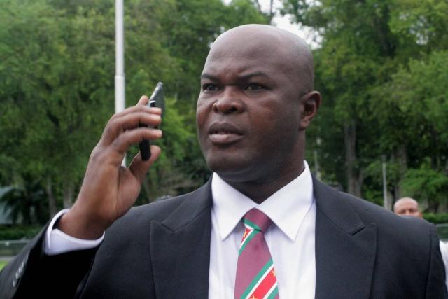 Ronnie Brunswijk, vice-président du Surinam, soupçonné de corruption par la Concacaf