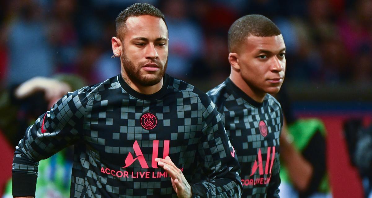 PSG : friture sur la ligne entre Kylian Mbappé et Neymar