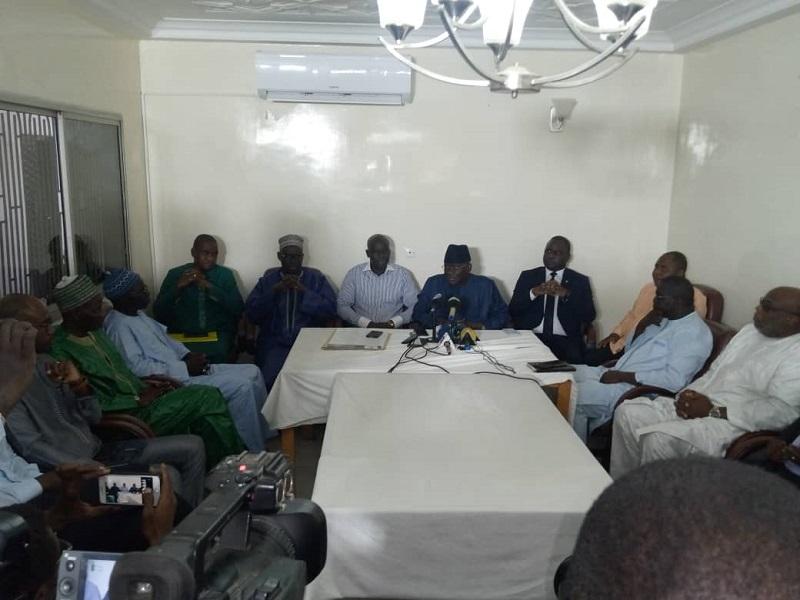 La Coalition Yewwi Askan Wi enregistre 11 nouveaux membres