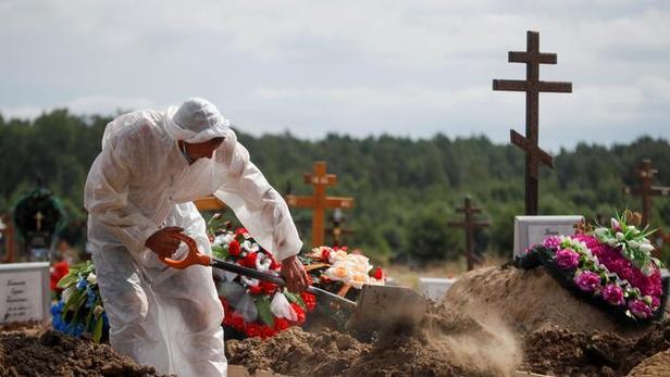 Covid-19: la Russie dépasse pour la première fois les 900 morts en une journée
