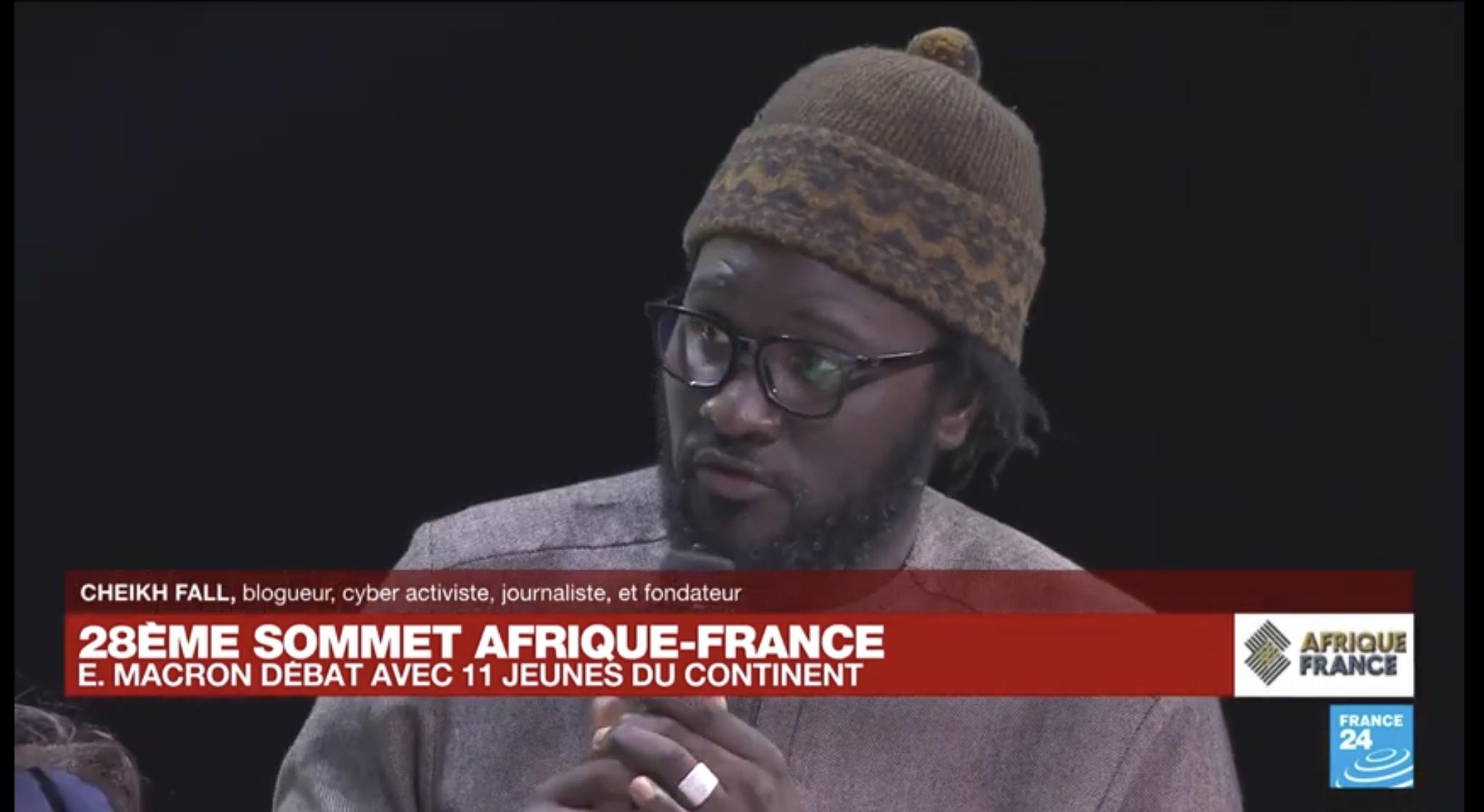 Sommet Afrique-France: les six exigences de Cheikh Fall au Président Macron