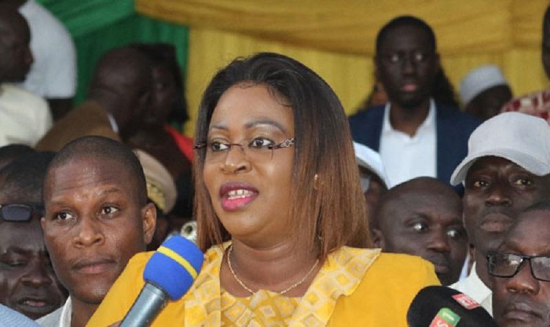 Mairie de Golf Sud: Néné Fatoumata Tall officialise sa candidature, mais reste à l'écoute de Macky Sall