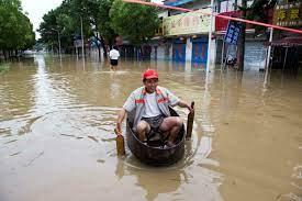 Inondations en Chine : près d'un million de déplacés dans le nord du pays