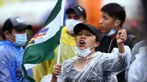 """Manifestations antigouvernementales en Bolivie, le président crie au """"coup d'État"""""""