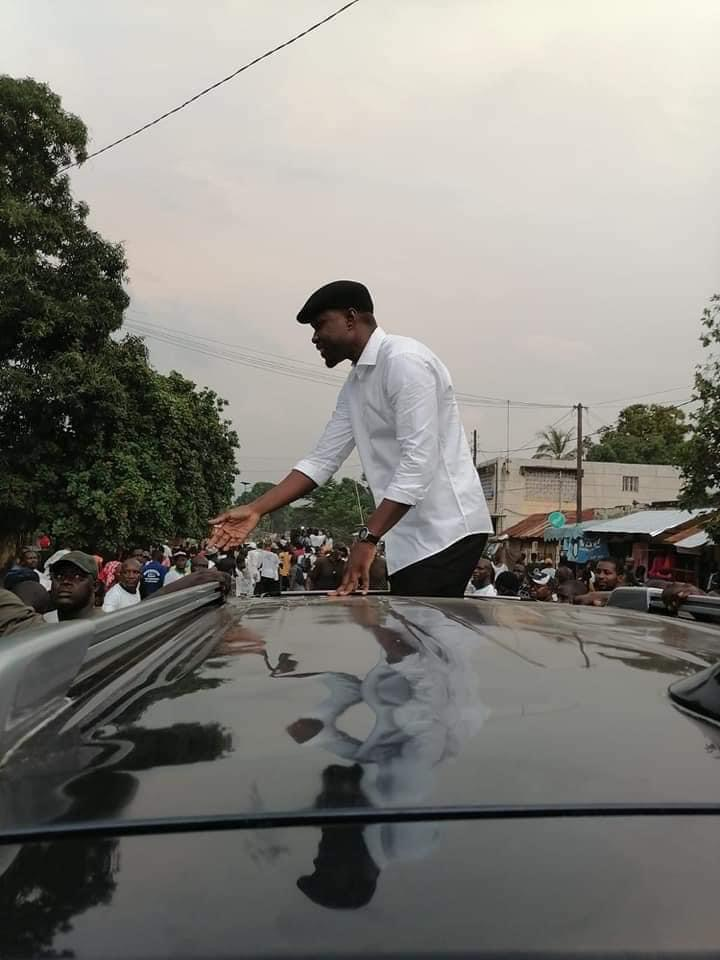 Ziguinchor: Sonko s'offre un bain de foule de plus 4 heures et déclare «presque» sa candidature à la mairie