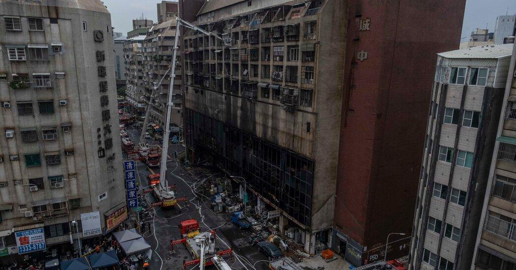 Taïwan: au moins 46 morts dans l'incendie d'un immeuble résidentiel