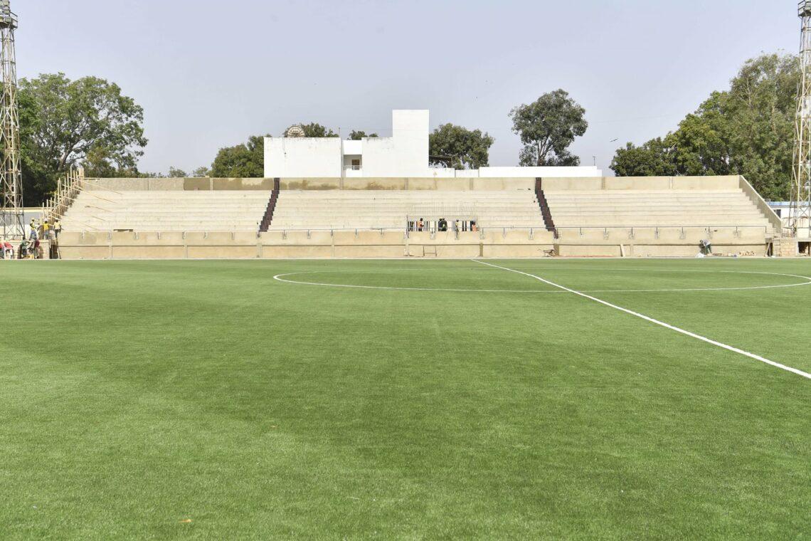 La Fifa certifie la pelouse du stade Maniang Soumaré de Thiès