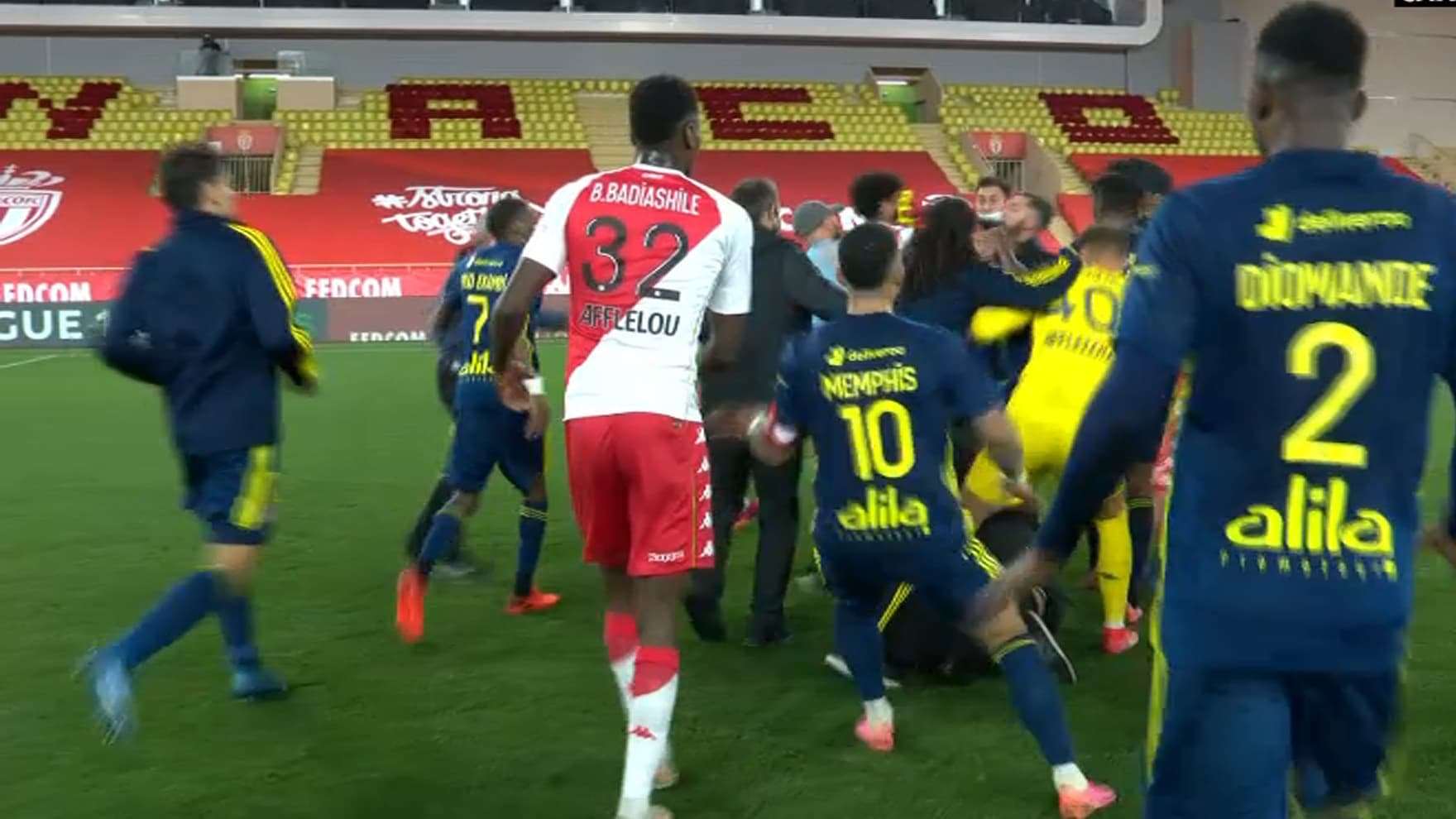L'OL décimé en attaque contre Monaco