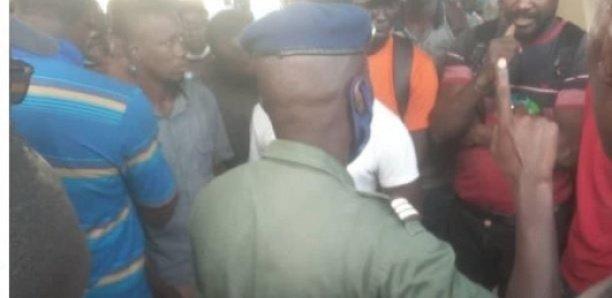 Les prestataires de la Senelec en grève de la faim, chassés du pont Saint-Lazare par la Gendarmerie