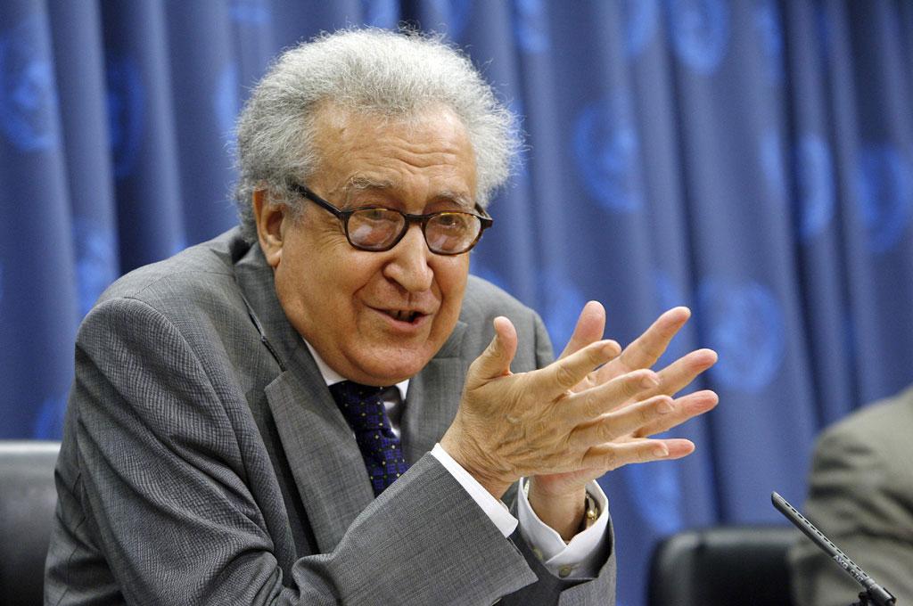 Syrie : pour Lakhdar Brahimi «si l'opposition ne participe pas, il n'y aura pas de conférence de Genève»
