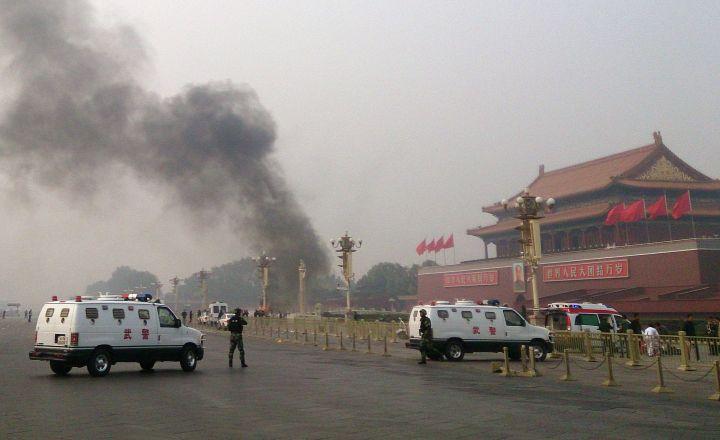 Attentat place Tiananmen: Pékin accuse le Mouvement islamique du Turkestan Oriental