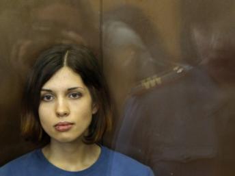 NadedjaTolokonnikova, le 17 août 2012. Reuters/Maxim Shemetov