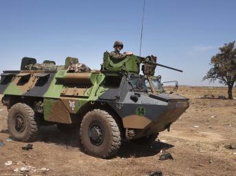 Le renforcement de la présence française à Kidal a pour objectif la sécurisation des législatives prévues le 24 novembre. REUTERS/Joe Penney