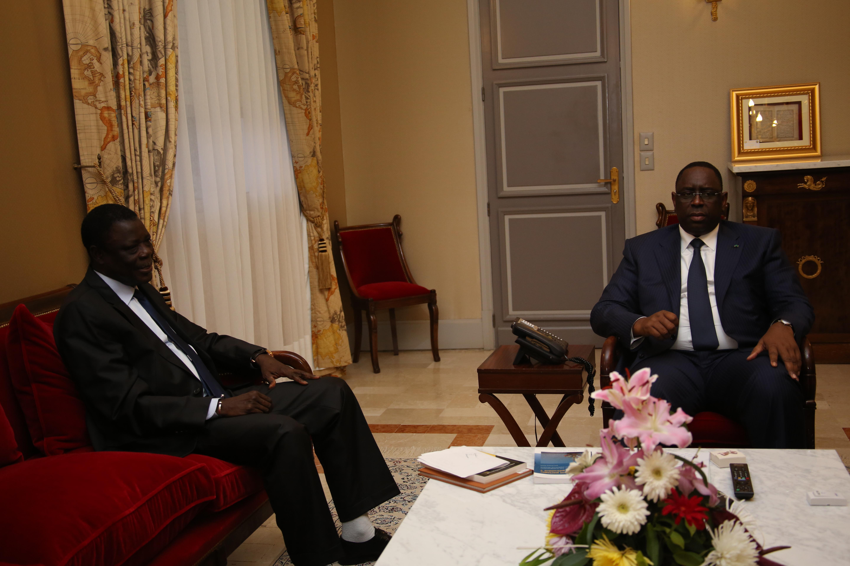 Audience au Palais: L'ancien Premier ministre Habib Thiam et Me Ousmane Séye soutiennent Macky Sall