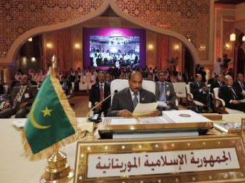 Le président mauritanien, Mohamed Ould Abdel Aziz, le 26 mars 2013 Jadallah / Reuters
