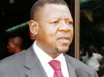Lambert Mende, porte-parole du gouvernement de RDC DR