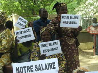 Le Premier ministre tchadien avait du pain sur la planche après sa nomination en janvier. Pour l'heure son bras de fer avec l'opposition autour de la nomination du président de la Céni l'a mené à être soumis à une motion de censure. AFP PHOTO/SONIA ROLLEY