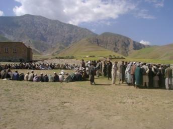 Présente depuis 10 ans dans la province de Faryab, en Afghanistan, l'ONG Acted y mène des activités de développement, et, comme ici, d'appuis aux communautés Acted
