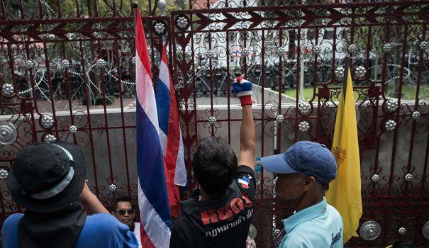 Thaïlande: des manifestants sont entrés de force au siège de l'armée
