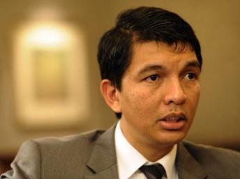 Andry Rajoelina, président malgache de la transition. Reuters