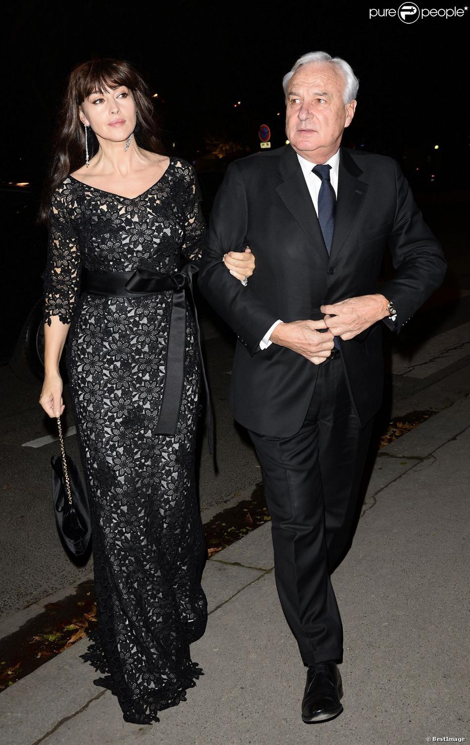 Monica Bellucci et Juliette Binoche au superbe vernissage de l'expo Cartier