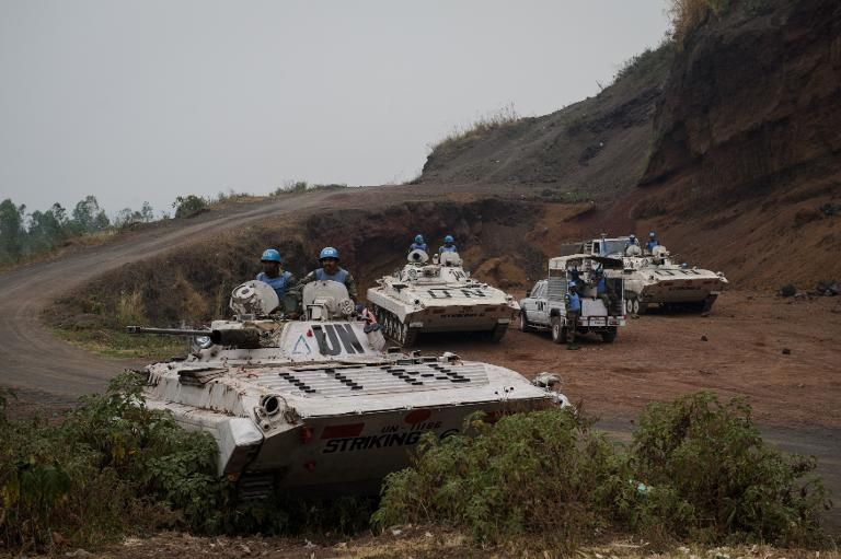 Des soldats français en patrouille à Bangui, le 30 novembre 2013. REUTERS/Joe Penney